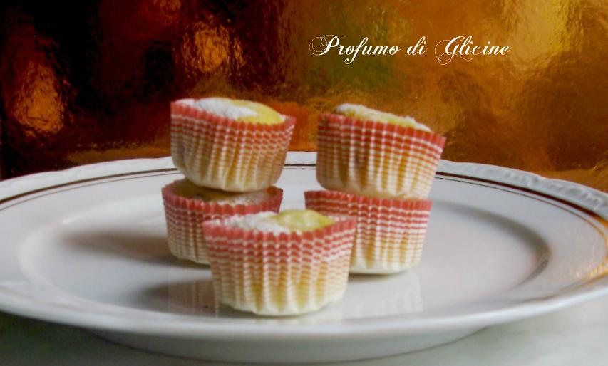 Muffins con cioccolato e pere