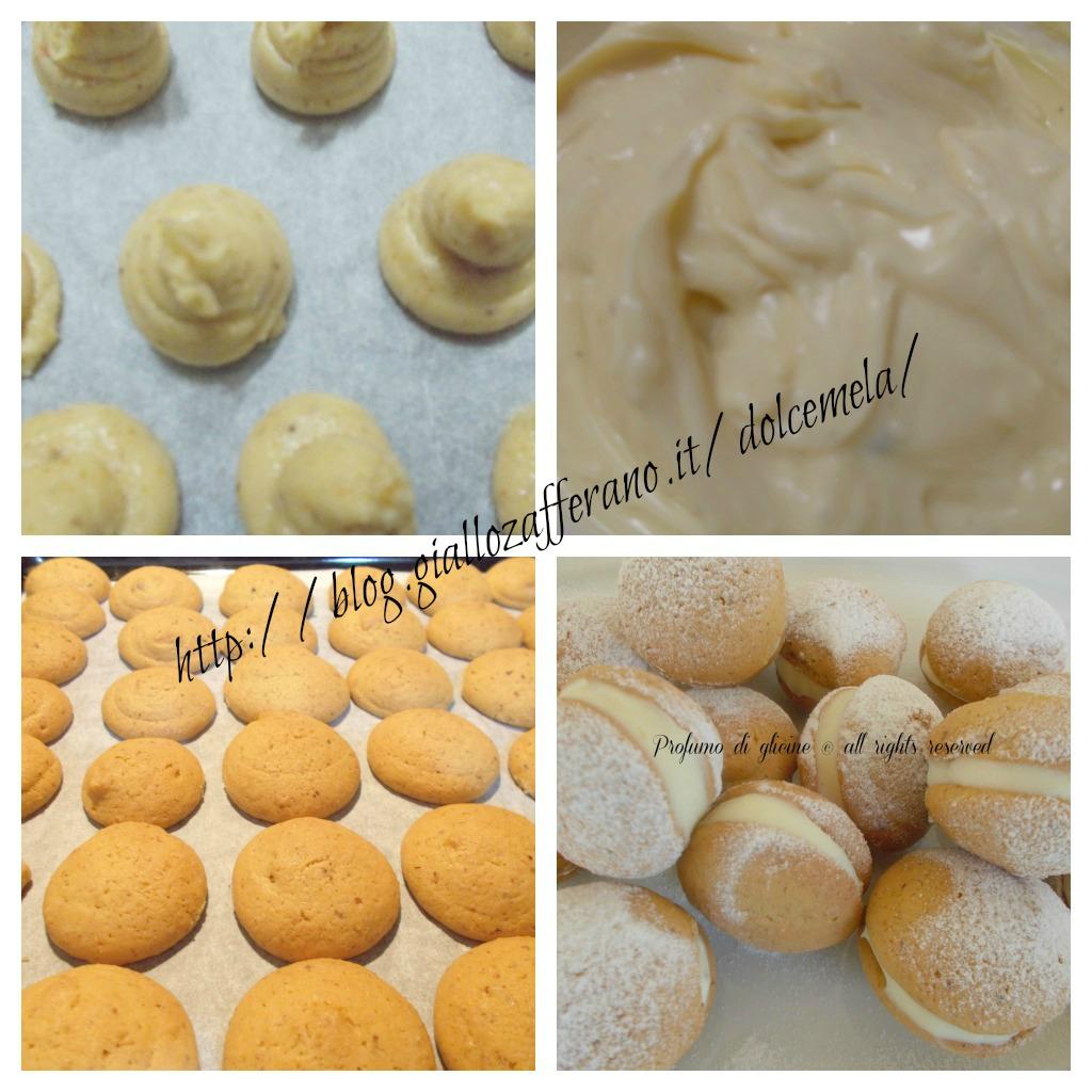 crema di limone e cioccolato bianco nella cucina di profumo di glicine