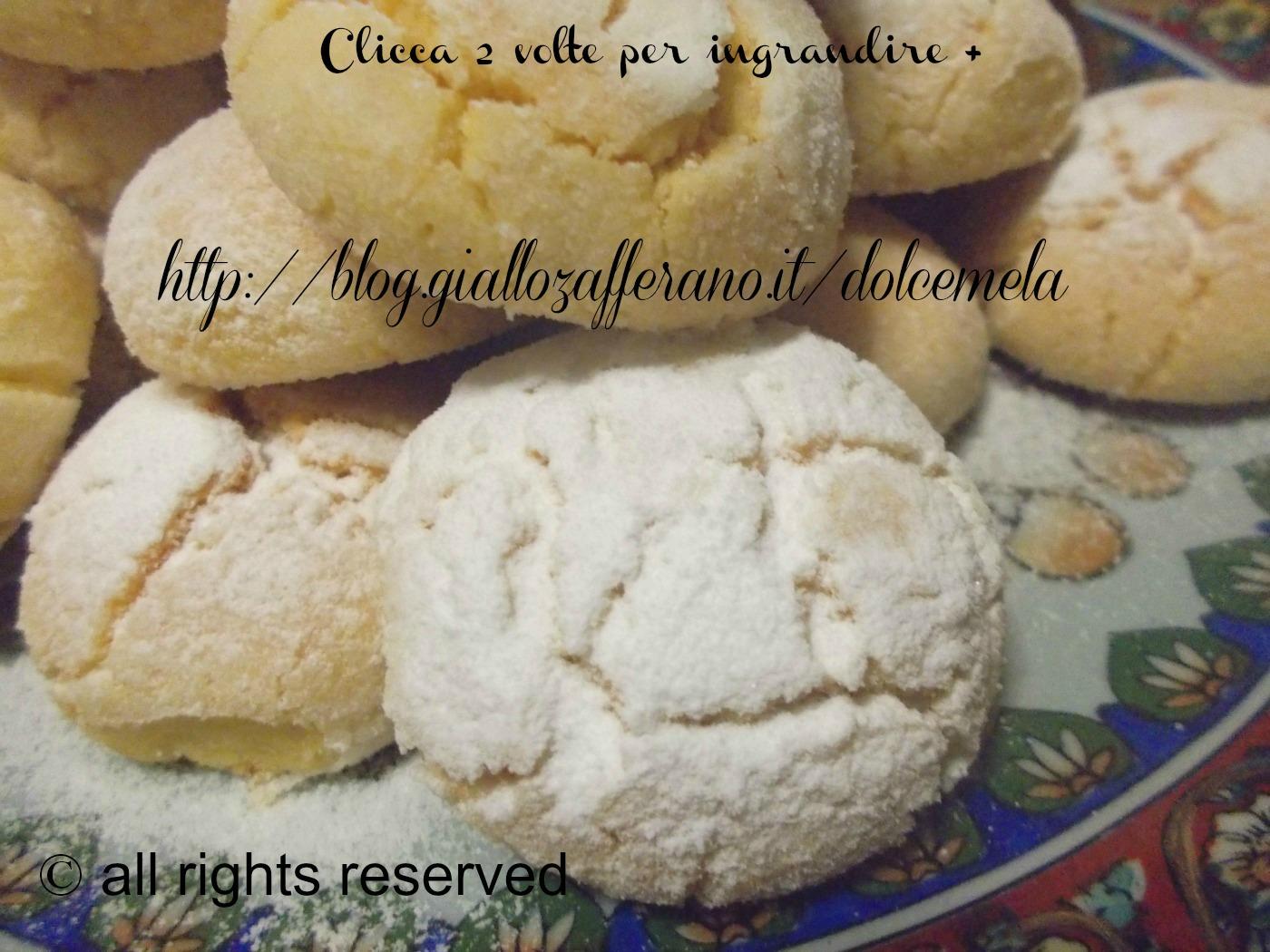 biscotti di semola - ricetta rivisitata al profumo di limone
