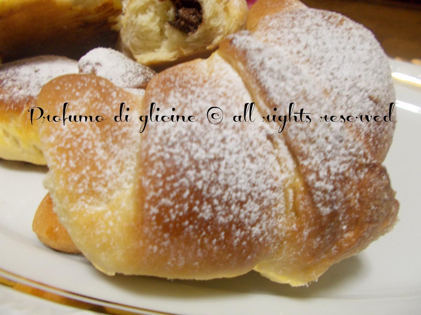 Preferenza Cornetti di pan brioche alla nutella - ricetta con lievito madre DJ26