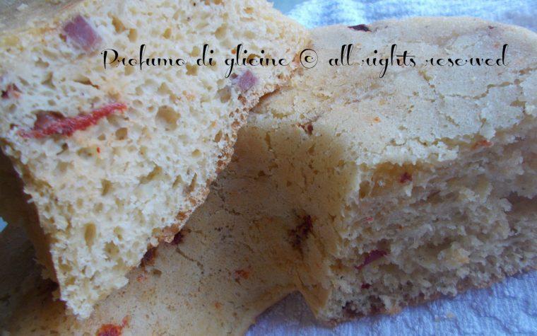 Ciambella rustica con peperoni salame e scamorza – ricetta con lievito madre