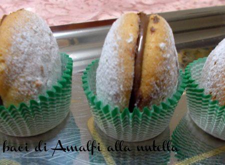 Bacetti di Amalfi alla nutella - ricetta golosa