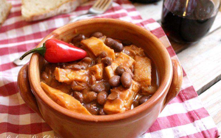 Trippa con fagioli borlotti – ricetta zuppa invernale economica