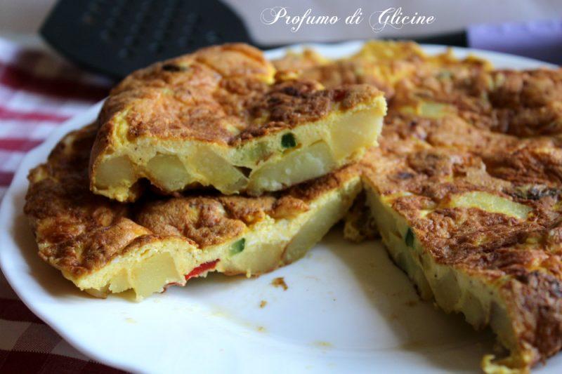 Frittata di verdure e formaggio ricetta semplice