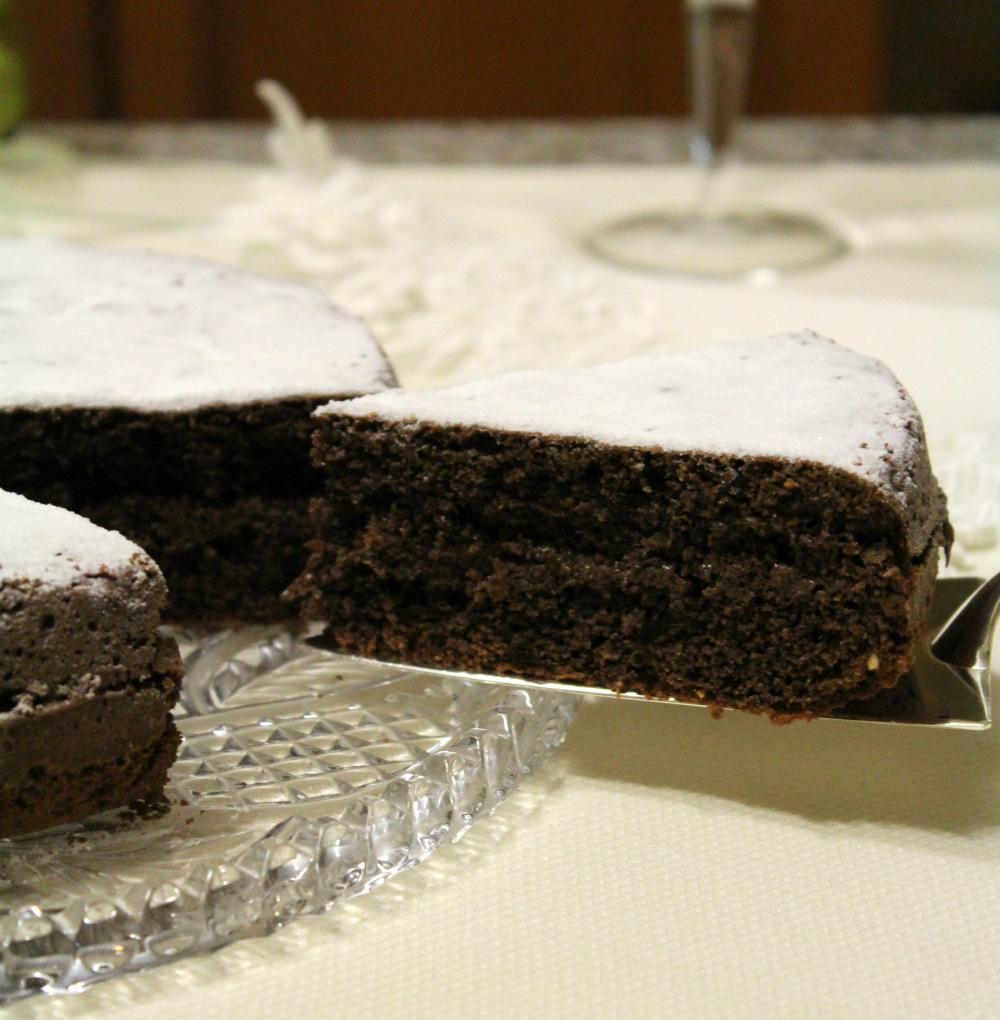 Torta cioccolato e nutella
