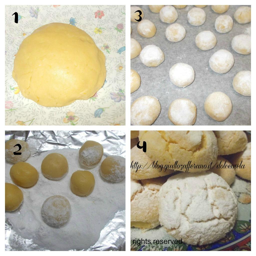 biscotti di semola o ghoriba ricetta rivisitata al profumo di limone