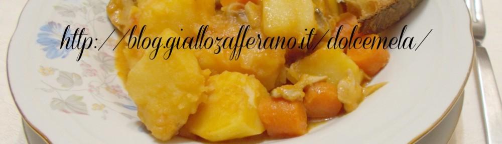le patate in umido con salsiccia e funghi porcini freschi