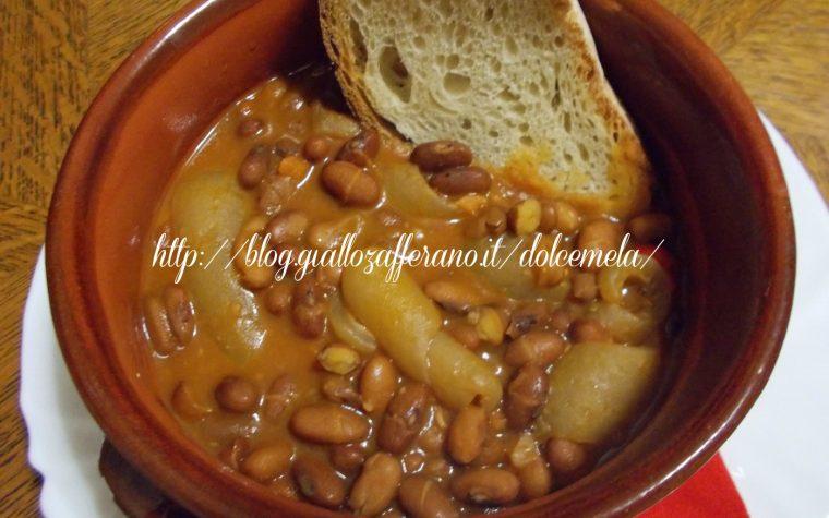 Zuppa di fagioli e cotiche – ricetta economica