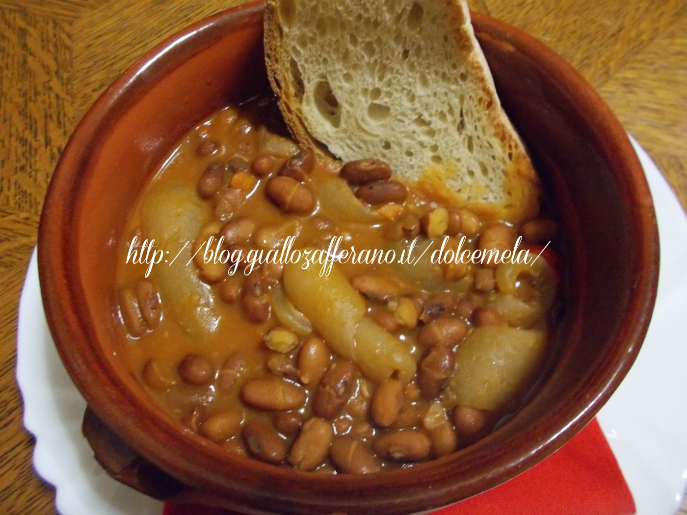 la zuppa di fagioli e cotiche