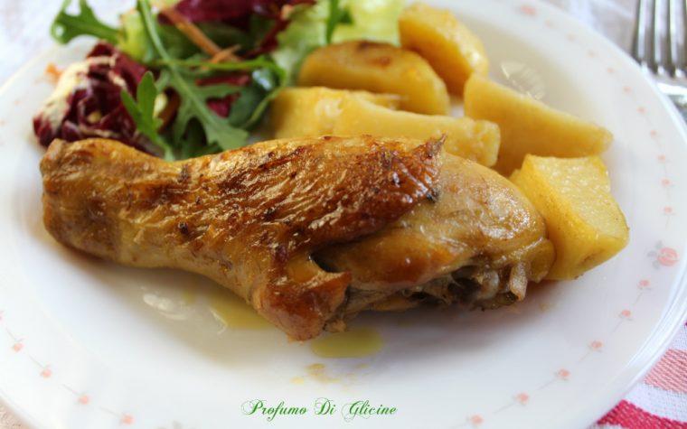 Pollo e patate croccanti senza frittura - ricetta light