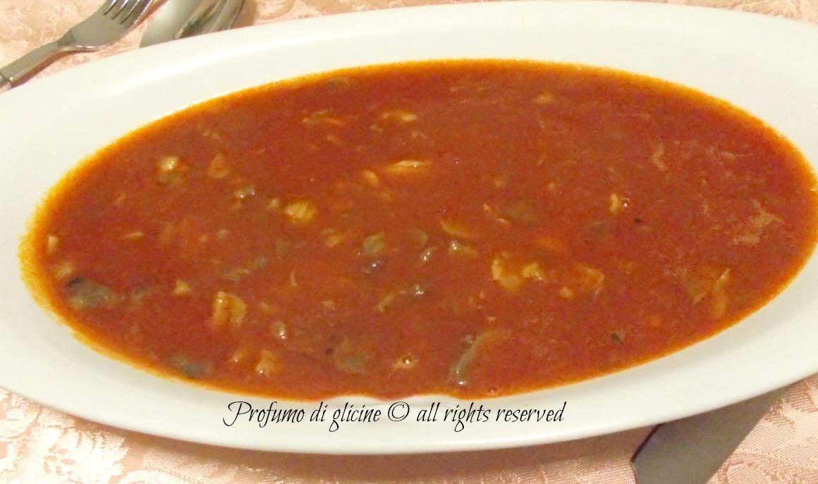 Zuppa di soffritto - ricetta tipica napoletana