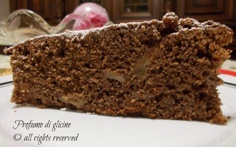 Torta di cioccolato e pere – ricetta di Salvatore De Riso