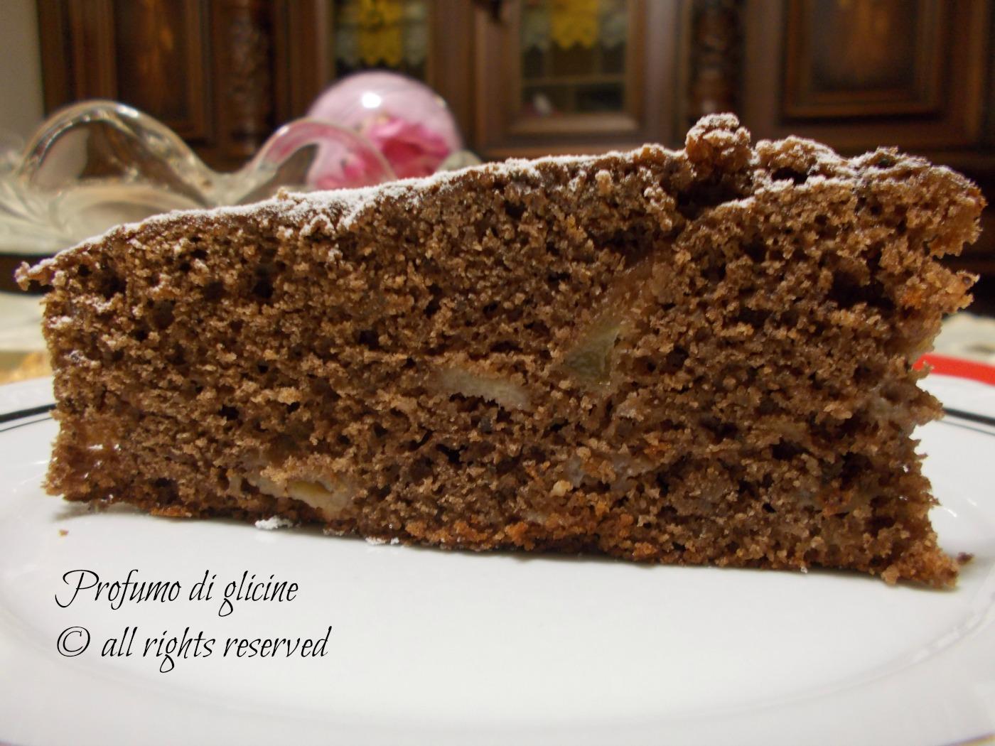 Torta di cioccolato e pere - ricetta di Salvatore De Riso