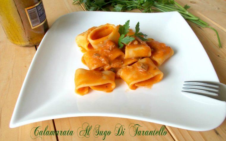 Calamarata di Gragnano al sugo di tarantello – ricetta cenone della vigilia