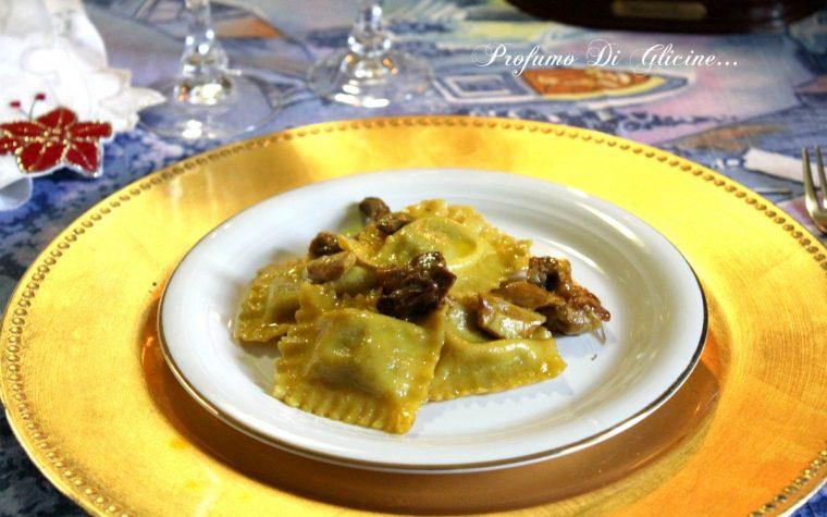Ravioli con funghi e curry – ricetta semplice e veloce