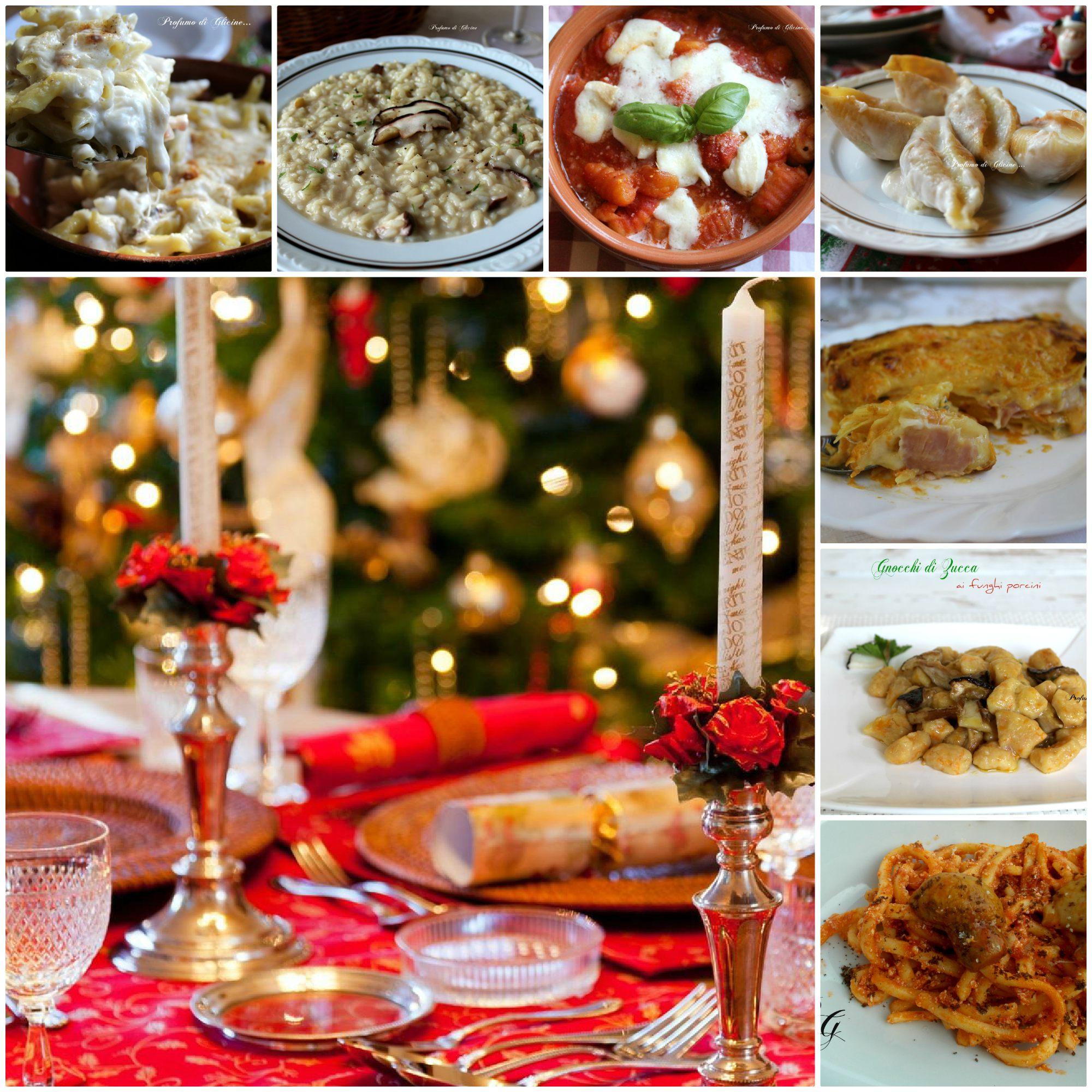 Menu pranzo di Natale primi piatti semplici