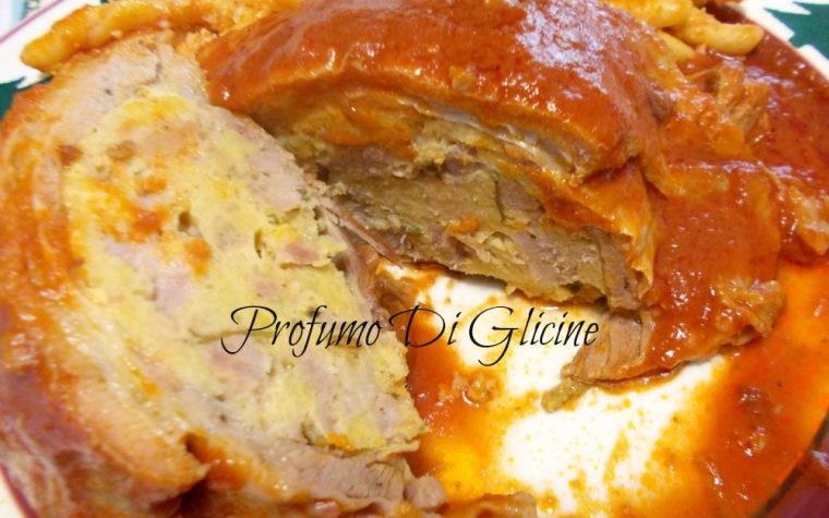 Pancetta di agnello ripiena - ricetta tipica irpina