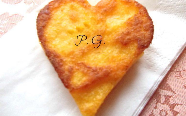 Gli scagliuozzoli a cuore ricetta per San Valentino