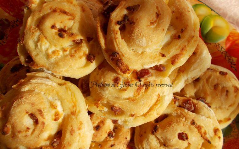 Baci di pizza con ricotta e salame – ricetta con lievito madre
