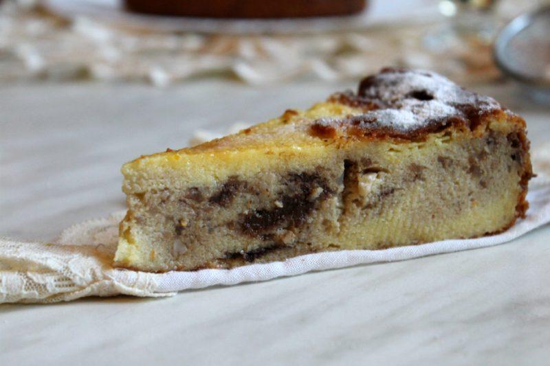 Migliaccio con frutta secca e cioccolato – ricetta rivisitata