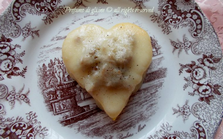 Cuori di polenta, ricetta antipasto di San Valentino