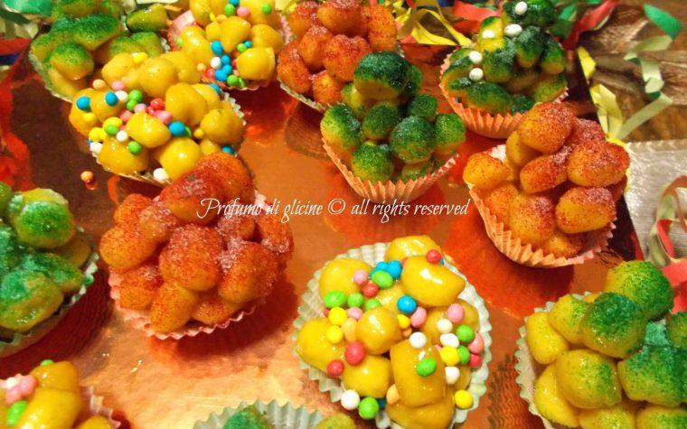 Cicerchiata, ricetta dolci di Carnevale
