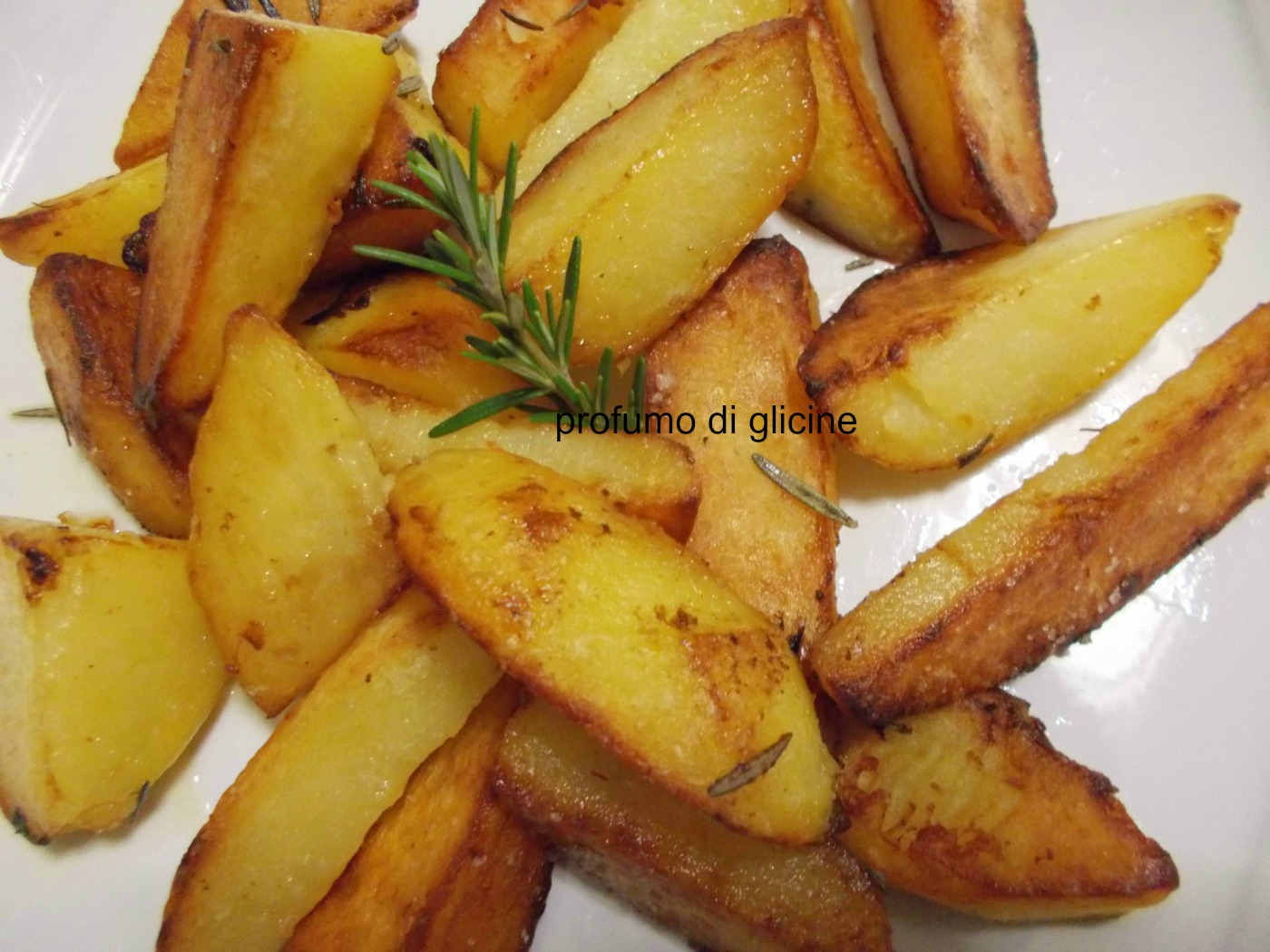 patate croccanti al rosmarino