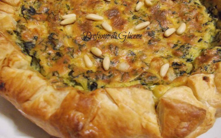 Torta salata ricotta e spinaci – ricetta passo passo