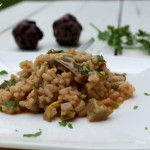 Risotto ai carciofi ricetta vegetariana