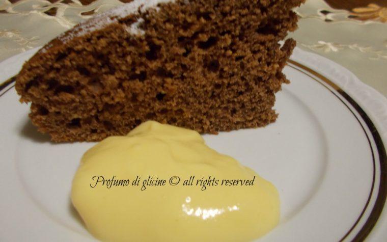 Torta al cioccolato con crema di arancia – ricetta per riciclare l'uovo di pasqua