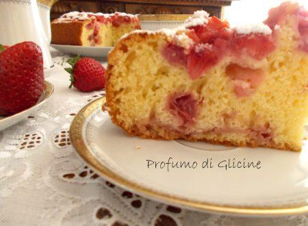 Torta soffice alle fragole - Ricetta facile e veloce