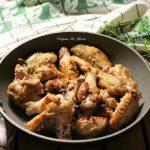 Ali di pollo saporite in padella – ricetta semplice ed economica