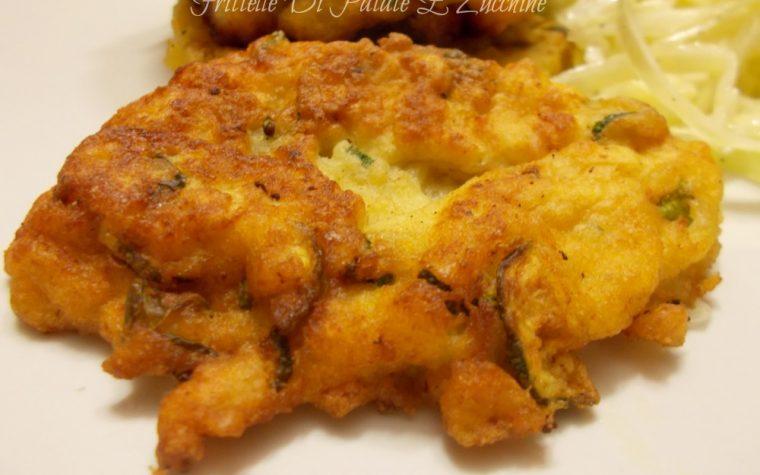 Frittelle di patate e zucchine – ricetta gustosa