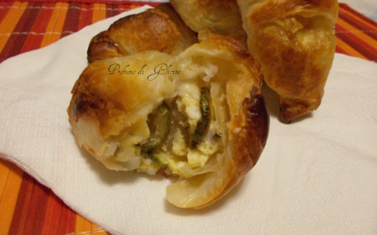 Cornetti di sfoglia salati  – ricetta finger food