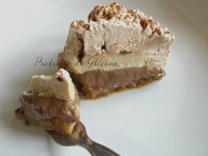 torta gelato al cioccolato e caffe