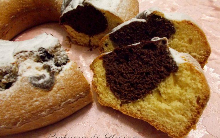 Ciambellone soffice con zenzero candito e cacao