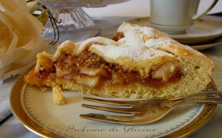Crostata di mele e nocciole – ricetta dolce vegano