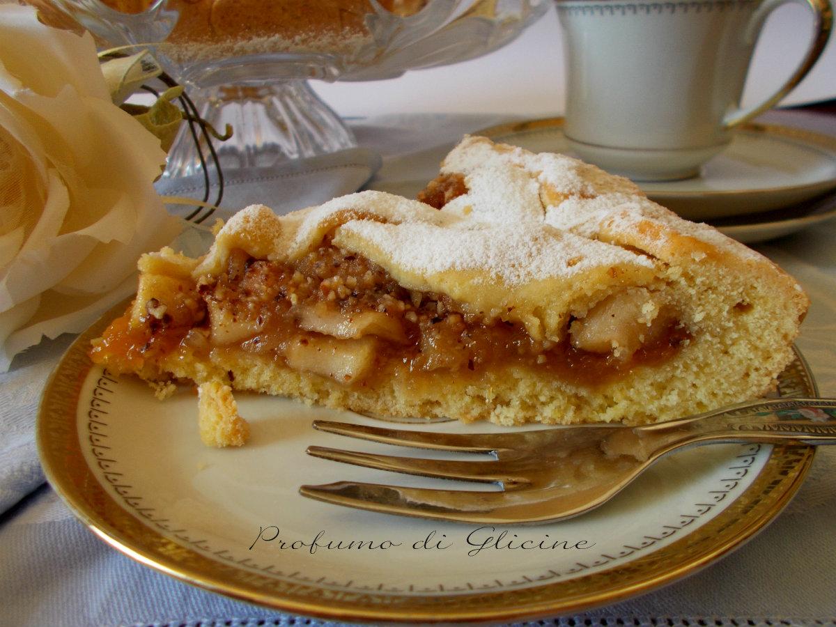 Crostata di mele e nocciole ricetta dolce vegano buonissimo for Crostata di mele