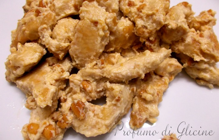 Tacchino con arachidi al curry | Profumo di glicine