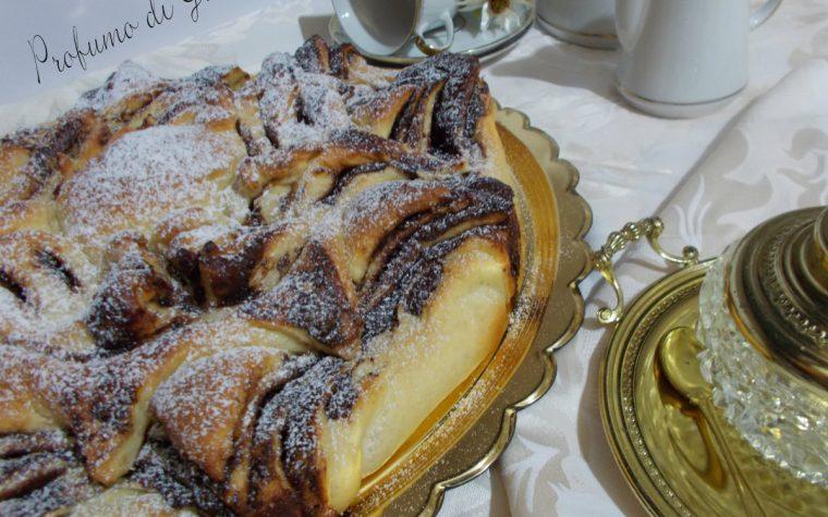 Girasole di pan brioche alla Nutella – ricetta con lievito madre