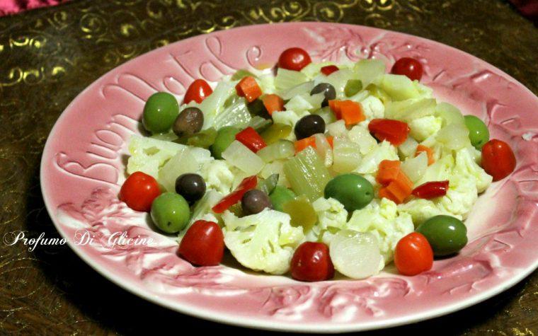 Insalata di rinforzo – ricetta tipica napoletana