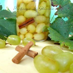 Uva alla grappa – ricetta della nonna