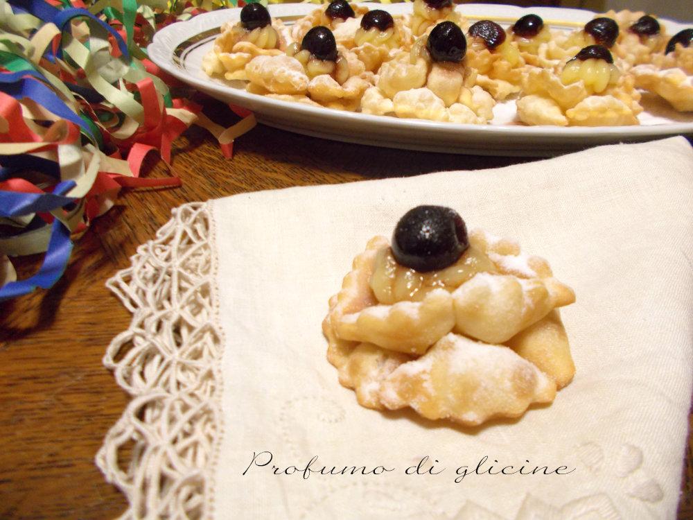 La Credenza Di Nonna Anna : Roselline di carnevale ricette dolci facili