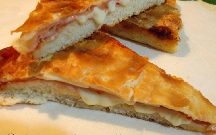 Pizza parigina-ricetta classica
