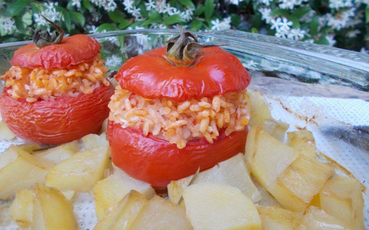 Pomodori ripieni alla romana