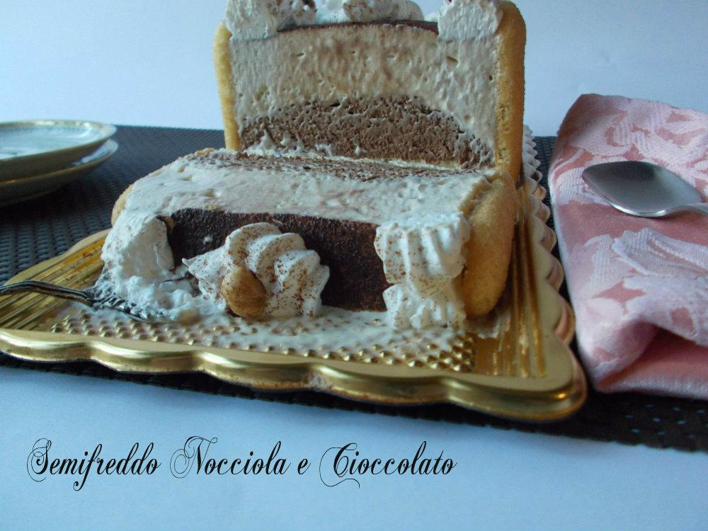 semifreddo nocciole e cioccolato