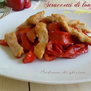 Straccetti di lonza con peperoni – ricetta secondo veloce