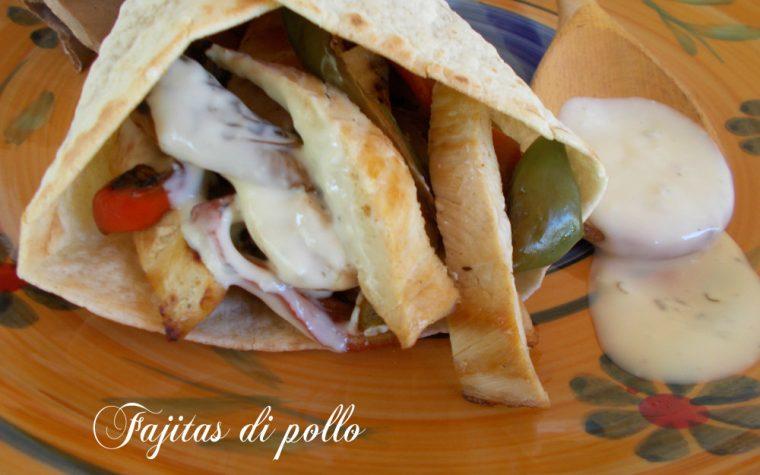 Ricetta Fajitas di pollo – ricette dal mondo