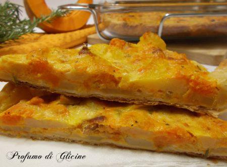 Torta salata patate e zucca - ricetta sfiziosa