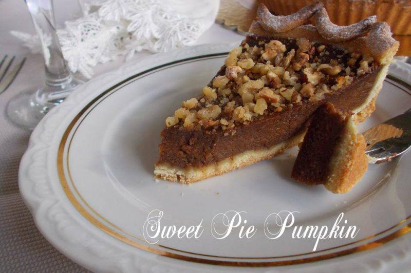 Torta dolce di zucca – Sweet pie pumpkin